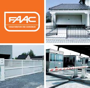 FAAC Torautomation und Schranken